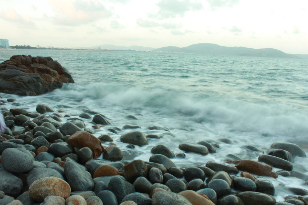 The Queen Beach (Egg Beach) in Quy Nhon Vietnam