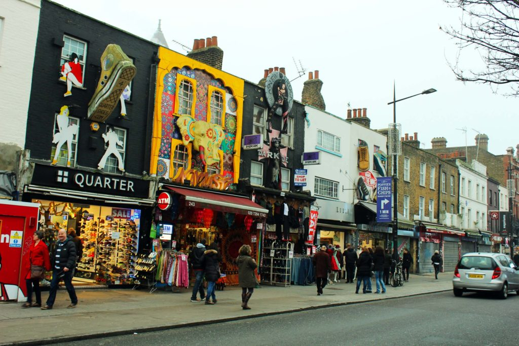 Camden Market - London Budget Trip - 14 free attractions London detailed reviews