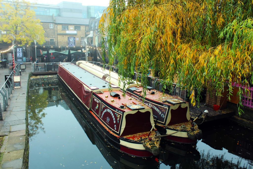 Canal at Camden Lock Market  - London Budget Trip - 14 free attractions London detailed reviews