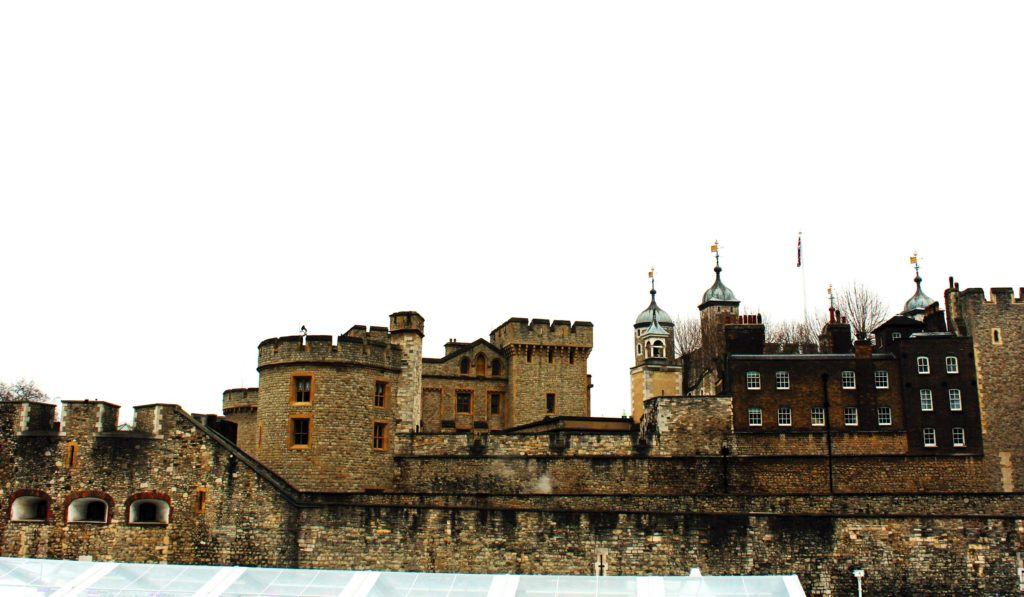 The Tower of London as seen from outside - London budget trip