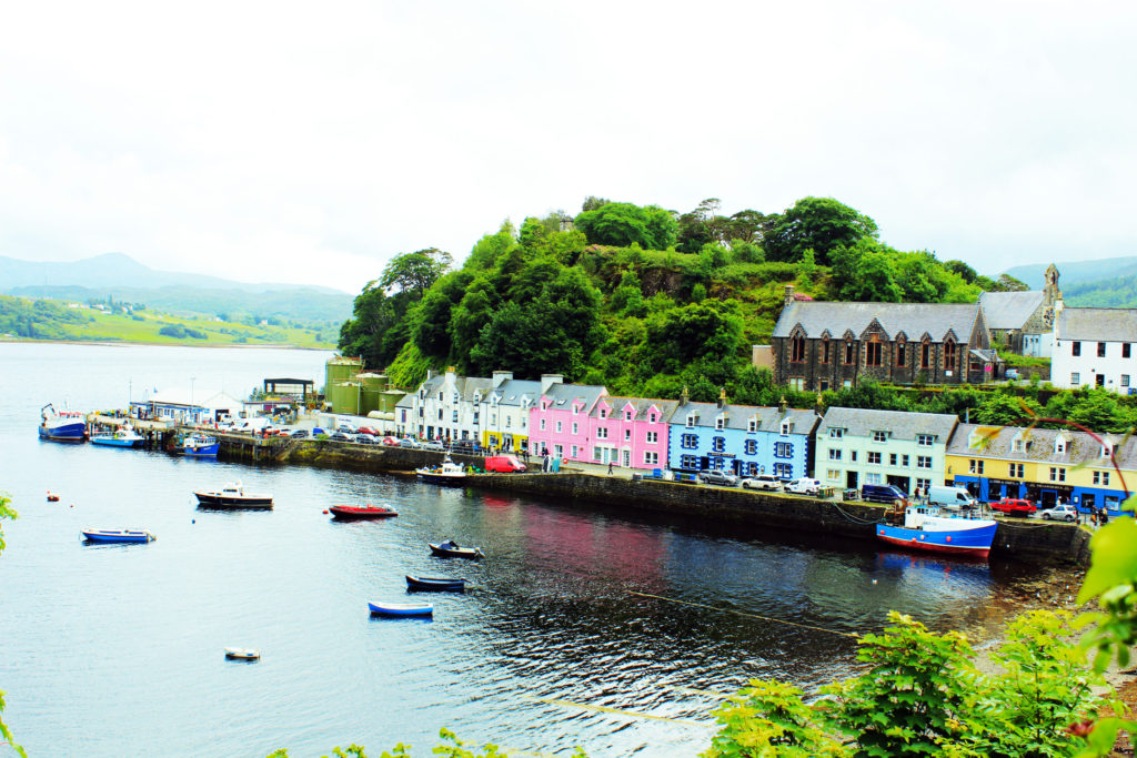Portree Isle of Skye | One day Scottish Highland Tour from Inverness