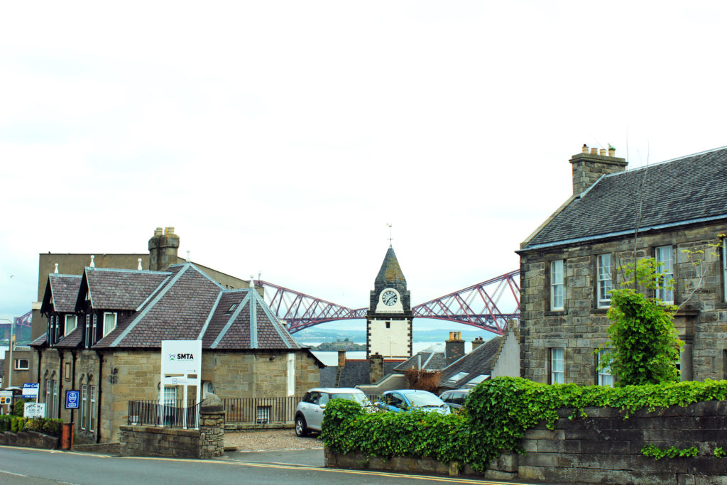 Jubilee Clock Tower South Queensferry Half Day Trip from Edinburgh