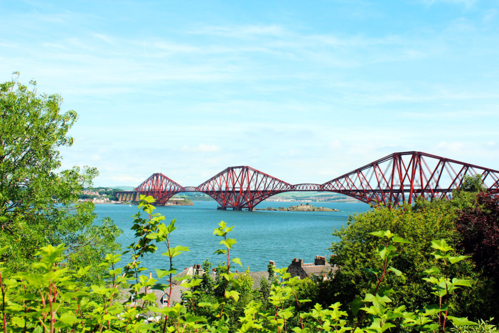 South Queensferry things to do Forth Bridge