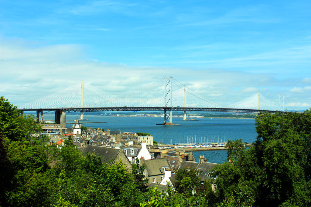 Forth Road Bridge South Queensferry