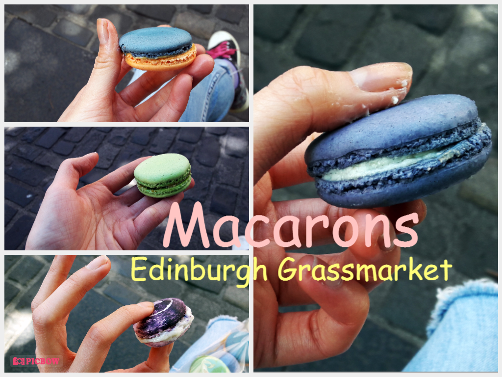 Macarons at Grassmarket Edinburgh