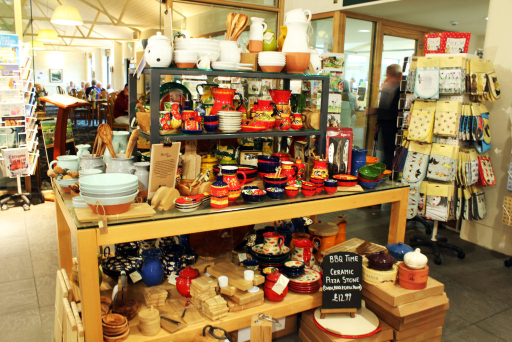 Souvenir shop at Wensleydale Creamery Visitor Center | Yorkshire Dales Tour
