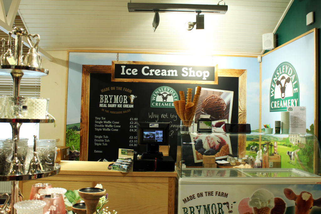 Ice-cream made from Wensleydale dairy | Wensleydale Creamery Visitor Center | Yorkshire Dales Tour