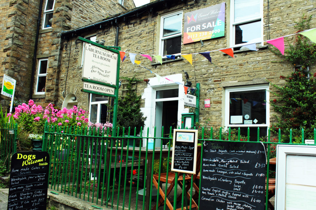 Lovely cafe in Hawes | Yorkshire Dales Tour