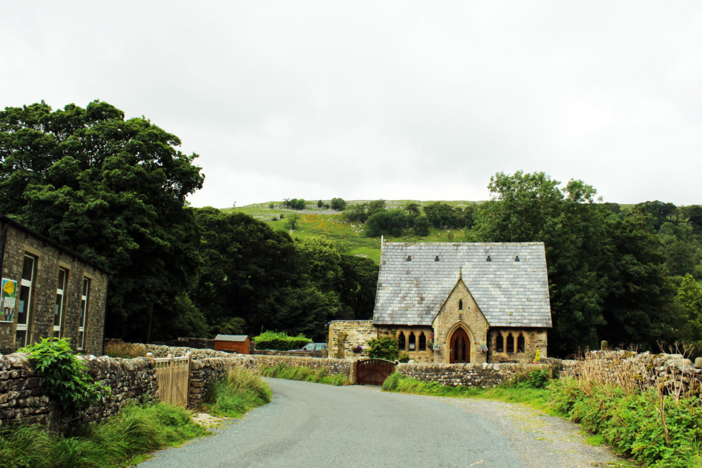 The closed-down local school in Arncliffe | Yorkshire Dales Tour