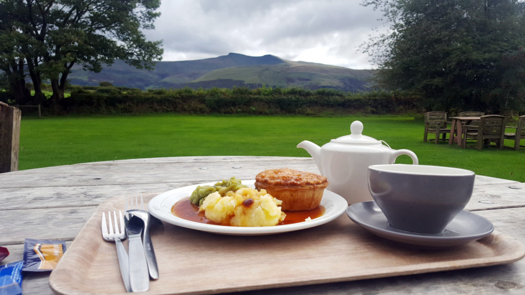 Lunch at the Tea Room | Brecon Beacons National Park Visitor Centre