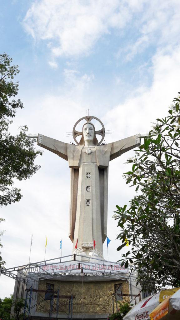 Jesus Christ Statue in Vung Tau Vietnam