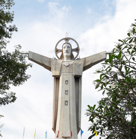 Jesus Christ Statue Vung Tau Vietnam