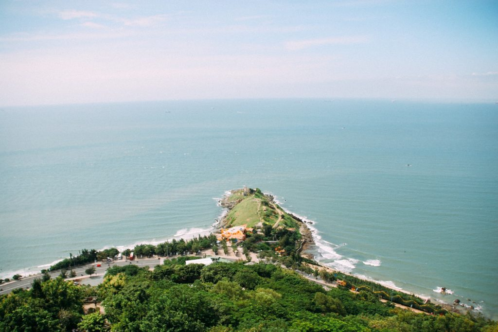 View from Christ Statue Vung Tau