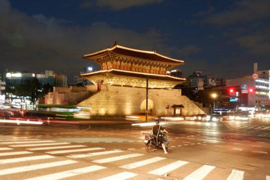 Heunginjimun Gate aka Dongdaemun Gate in Seoul