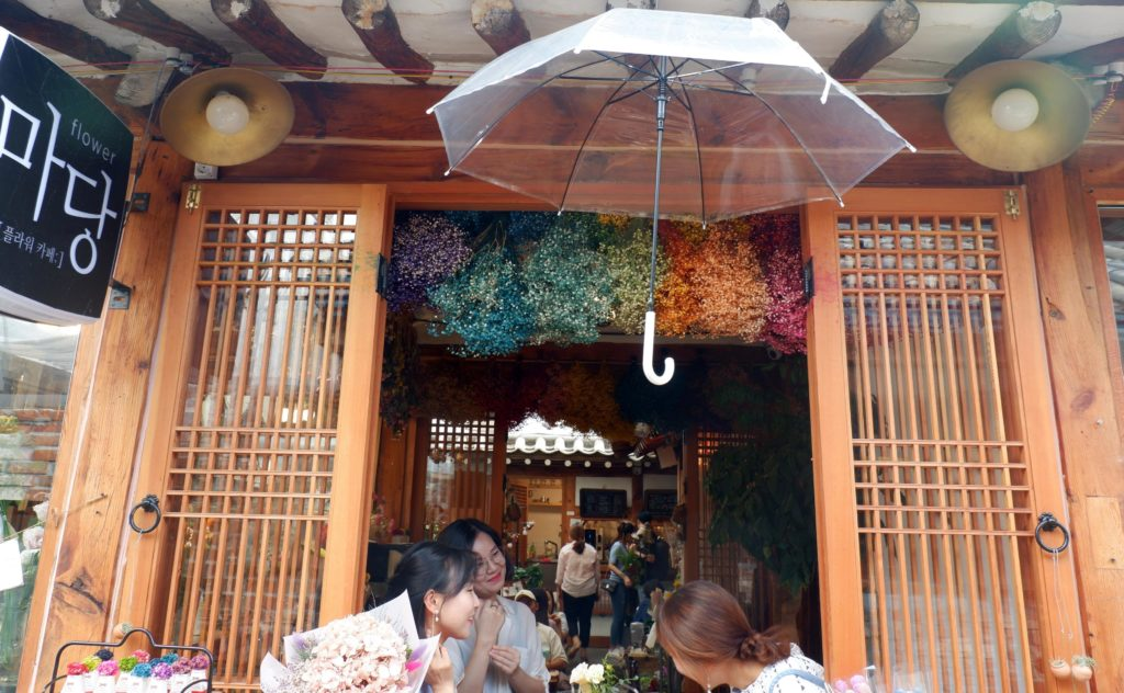 Insadong Hanok Village is where young locals head to for a weekend catch-up