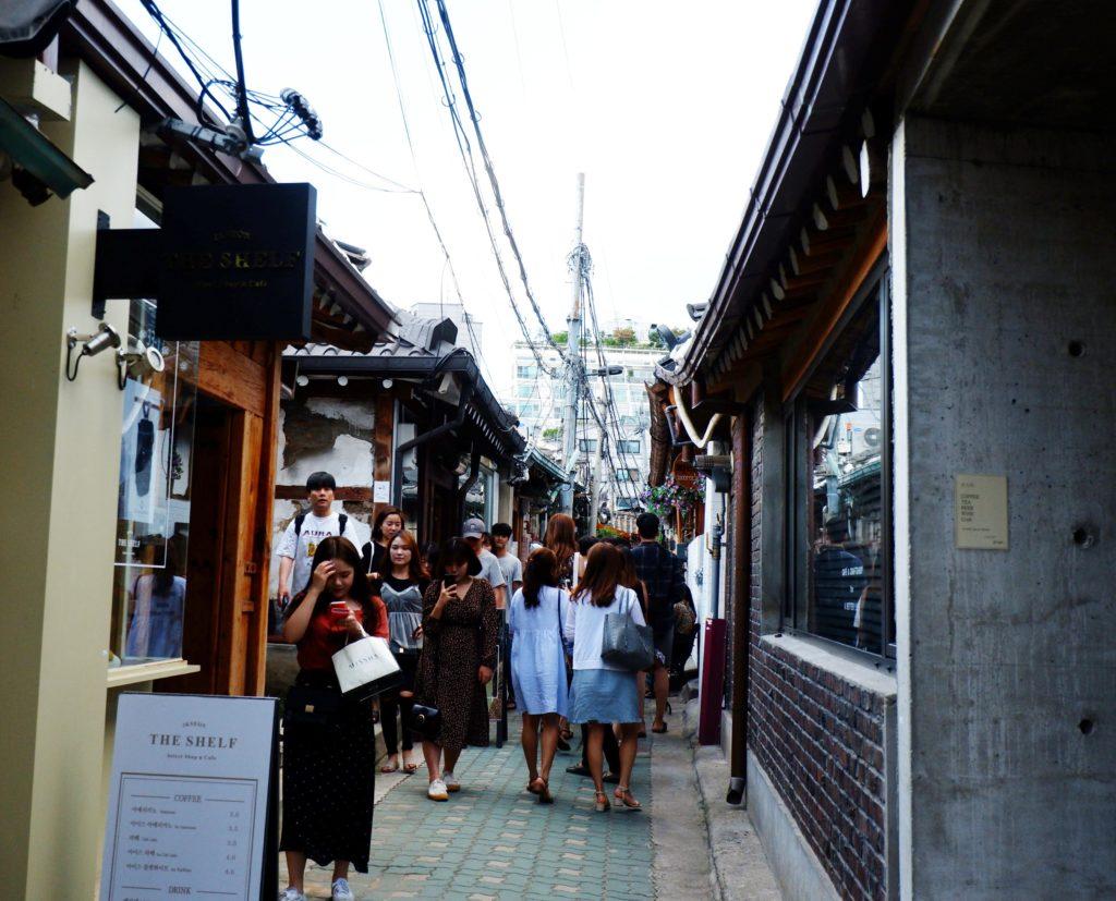 Insadong Hanok Village Seoul