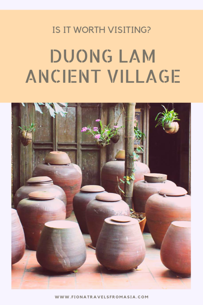 Duong Lam Ancient Village - Is it worth visiting