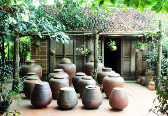 Soya Sauce Making at Duong Lam Ancient VIllage, Hanoi
