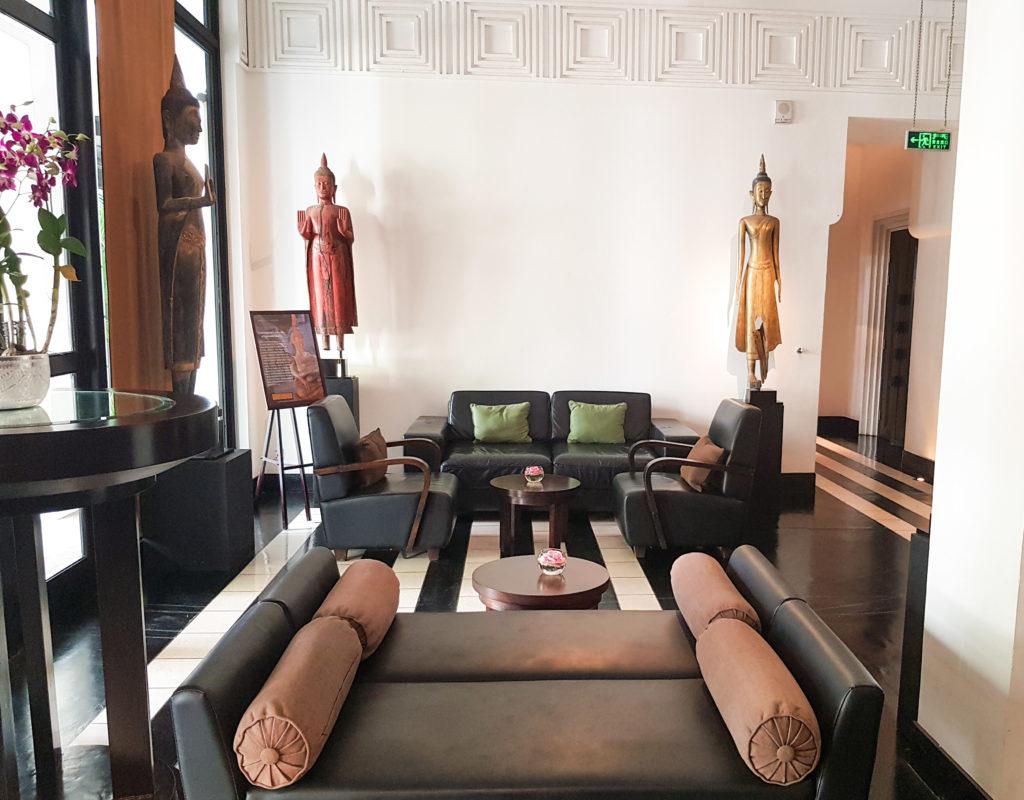 Interior design at Park Hyatt Siem Reap