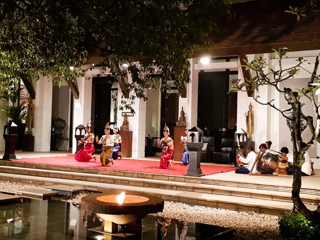 Traditional Khmer dance at Park Hyatt Siem Reap