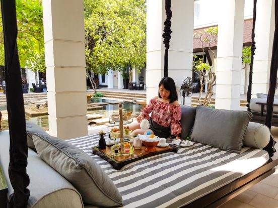 Afternoon Tea at Park Hyatt Siem Reap