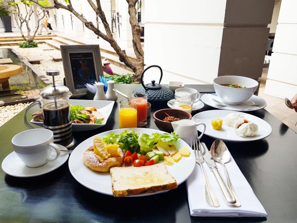 Breakfast with a view at Park Hyatt Siem Reap