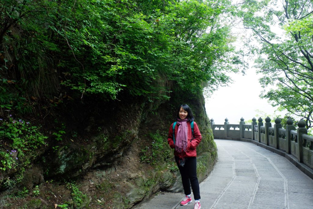 Walking around Wudang Mountains