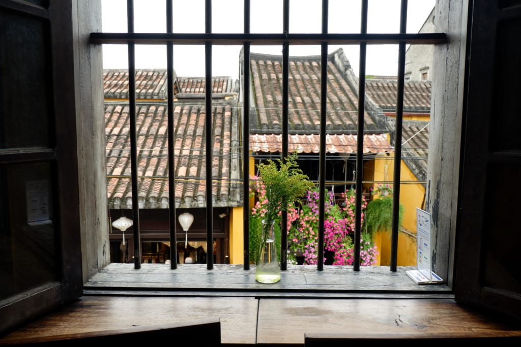 View from a coffee shop in Hoi An