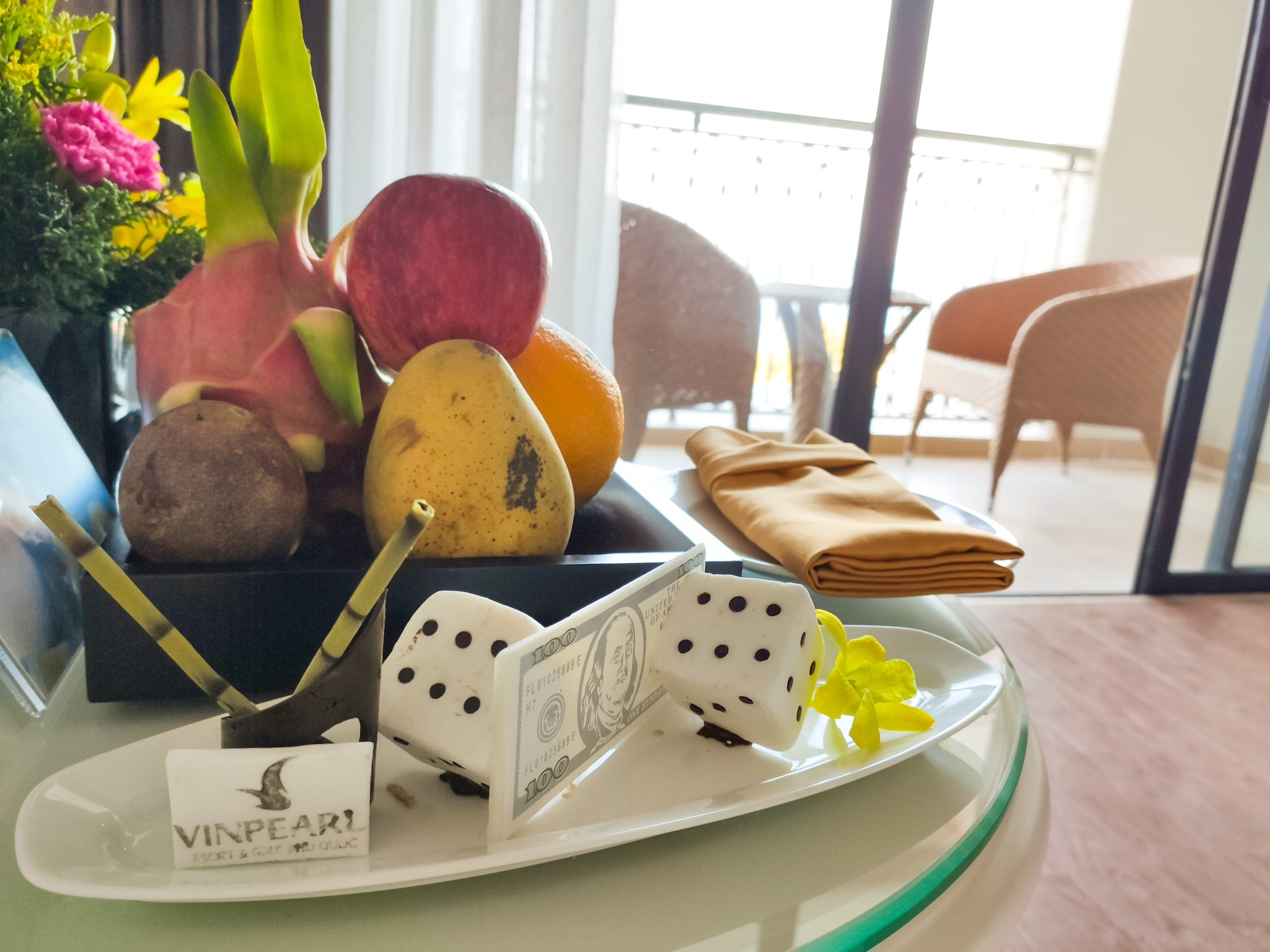 Room amenities at Vinpearl Resort & Golf Phu Quoc