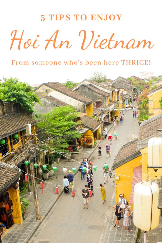 5 tips to enjoy Hoi An VIetnam