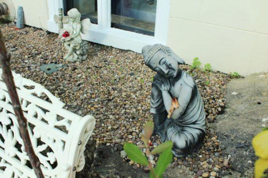 Buddha Statue at Manjushri Kadampa Meditation Centre