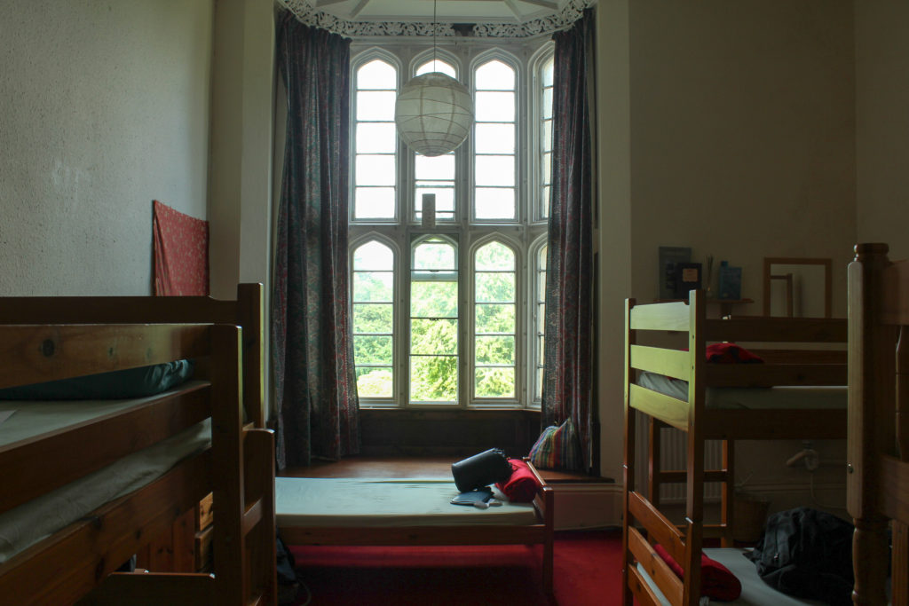 My volunteer dorm at Manjushri Kadampa Meditation Centre