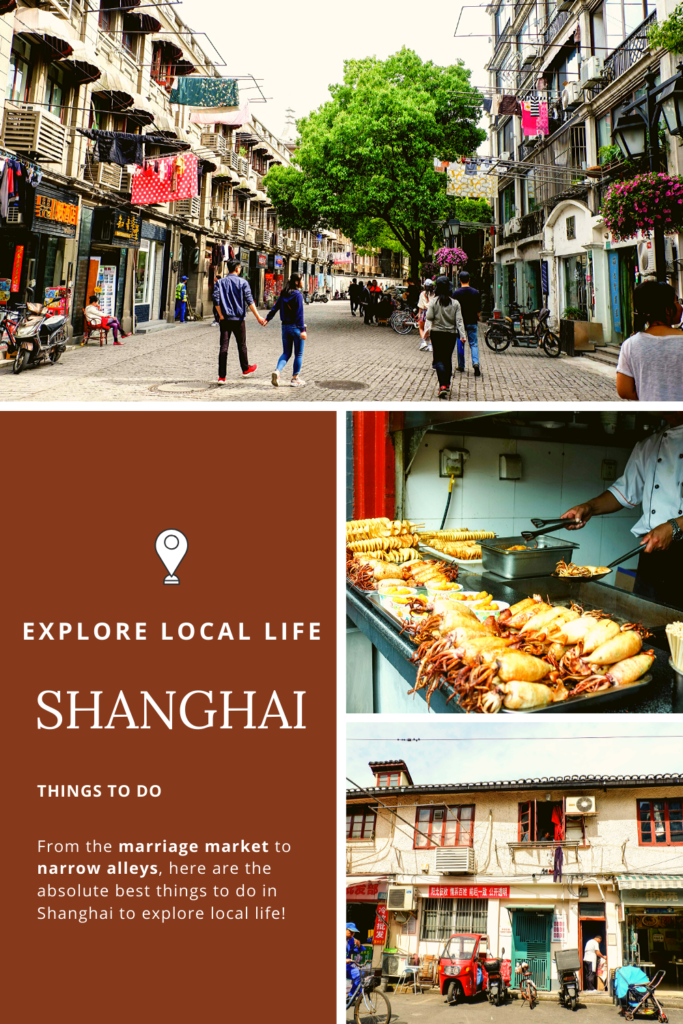 6 things to do to explore local life in Shanghai