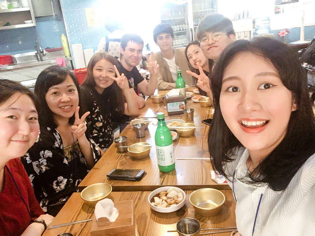 Lunch with Seoul-Mate tour guides | Seoul Free Walking Tour